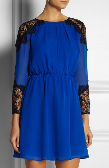 Lace detail dress Alice and Olivia