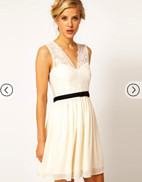 lace dress chic Asos