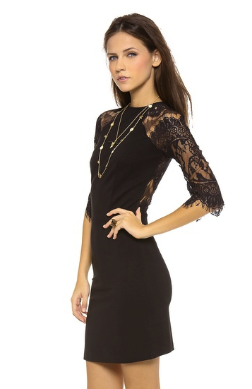 little black dress lace BB Dakota