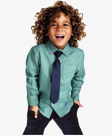 H&M shirt tie combo