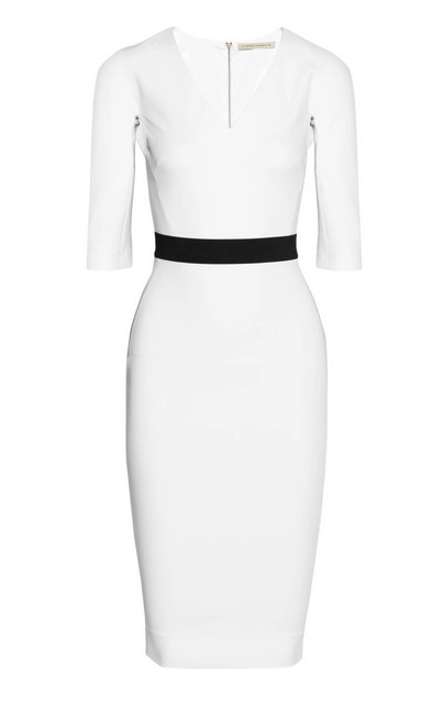 Victoria Beckham little white dress