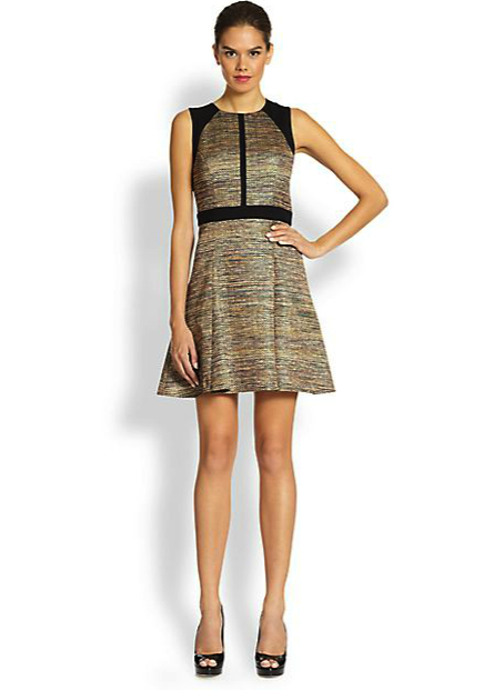 ali ro metallic dress under saks 500