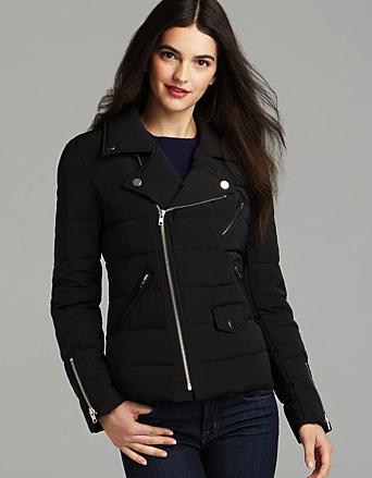puffer jacket aqua
