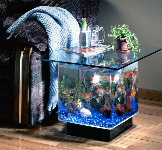 aquarium side table