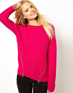 bright sweater