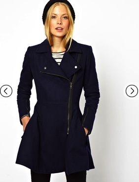 winter coat asos