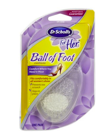 ball of foot insert