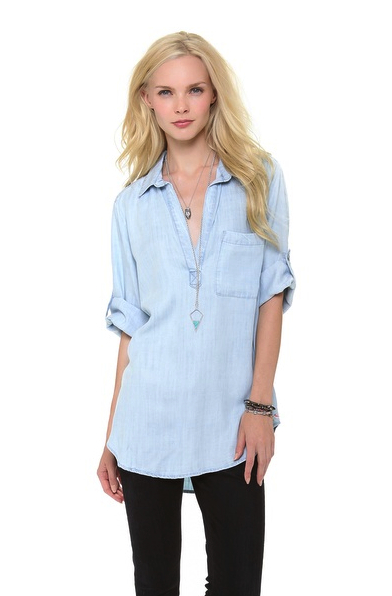 chambray denim shirt Bella Dahl