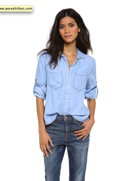 chambray shirt Bella Dahl