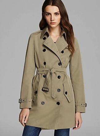 burberry brit trench bloomies