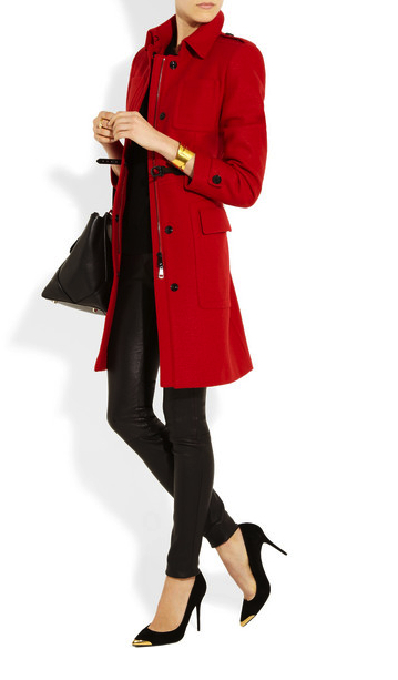 red coat Burberry London