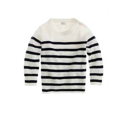 cashmere striped sweater jcrew