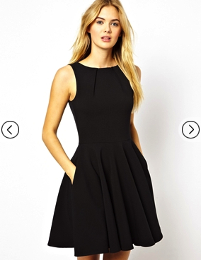little black dress asos