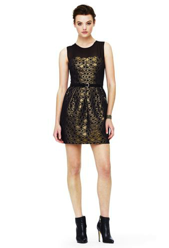 club monaco sparkle dress