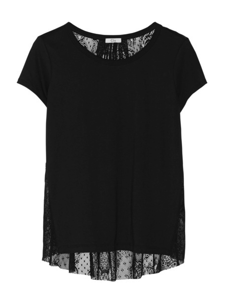 lace t-shirt Clu