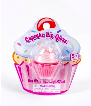 cupcake lipgloss kitson