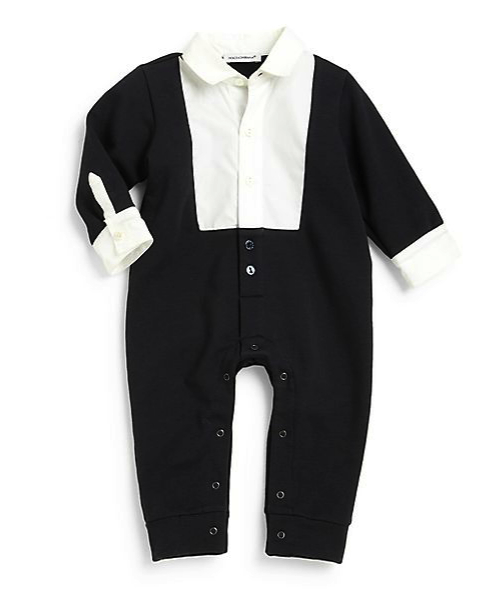 dolce and gabbana onesie tux