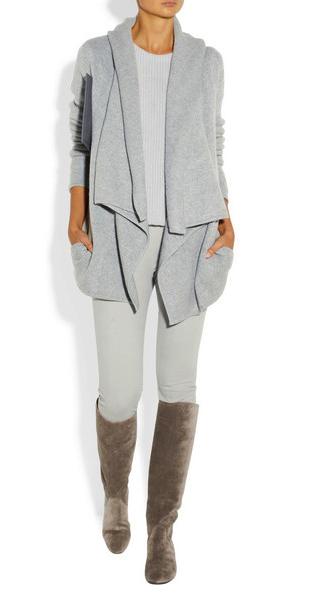 donna karan cashmere cardigan