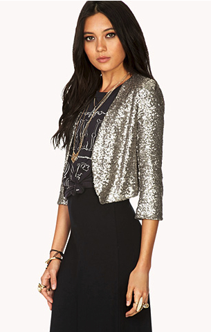 forever21 sequin jacket