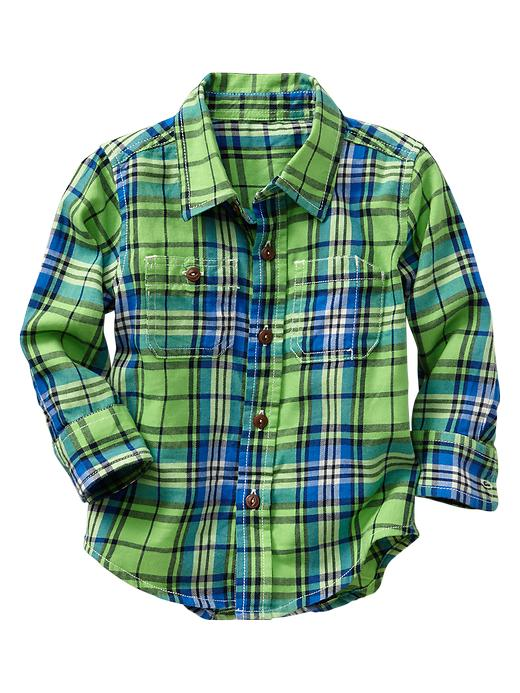 gap boys neon shirt