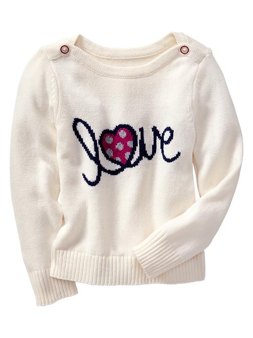 gap love sweater