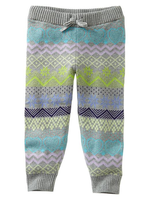 boho leggings fair isle baby gap