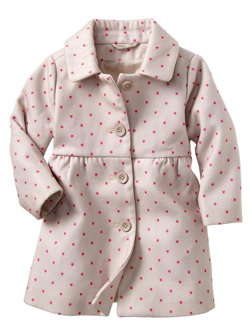 girls winter coat star print Gap
