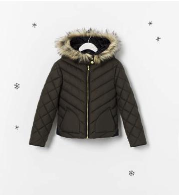puffer jacket zara