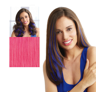 hair extentions in colors