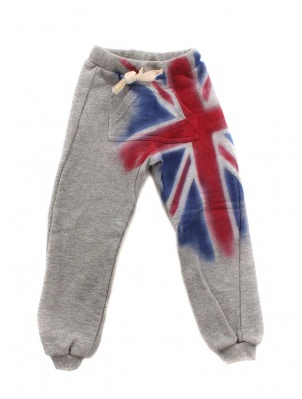 union jack sweatpants happiness