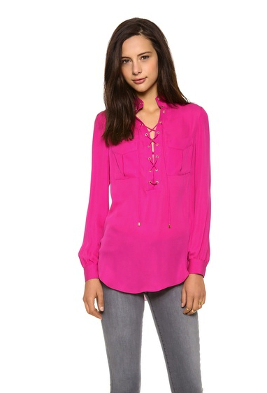 haute hippie pink top