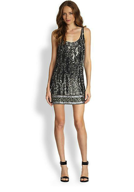 haute hippie sparkle dress
