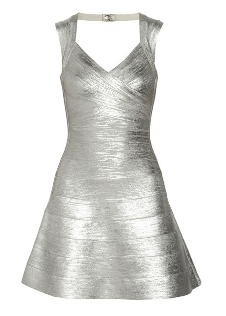 herve Leger  dress sparkle
