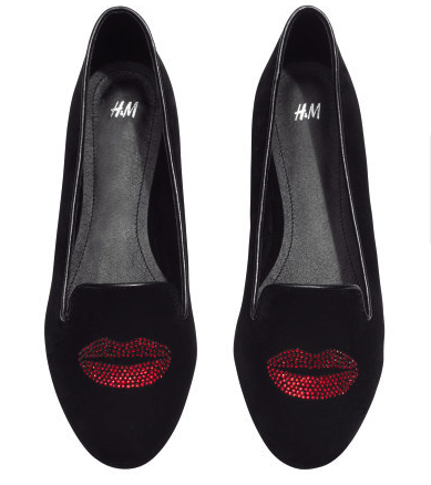 hm lip loafers