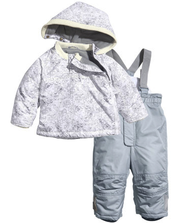 hm rain jacket pants set