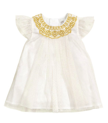 baby holiday dress H&M