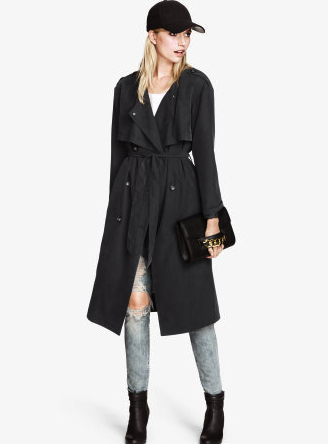 hm women's trench coat