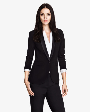 tuxedo blazer evening jacket H&M