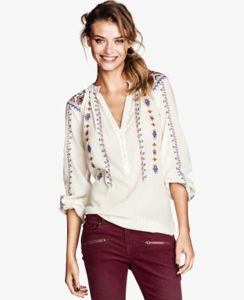blouse under $100
