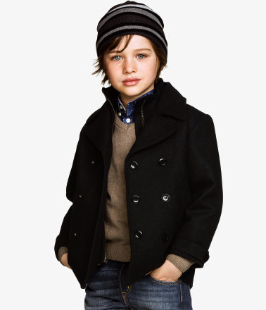 boys pea coat H&M