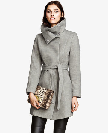 winter coat H&M
