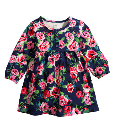 floral print dress pretty princess H&M $