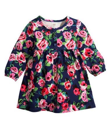 floral print dress pretty princess H&M $