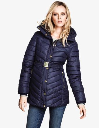 maternity puffer jacket H&M