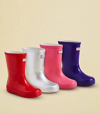hunter girls wellies bloomies