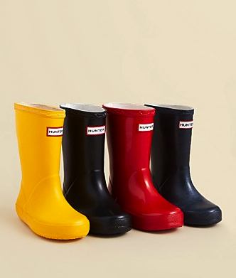 hunter kids wellies