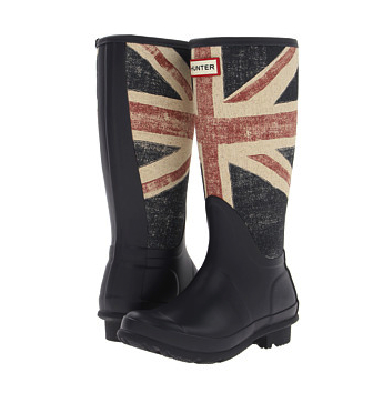 Wellie boots union jack Hunter