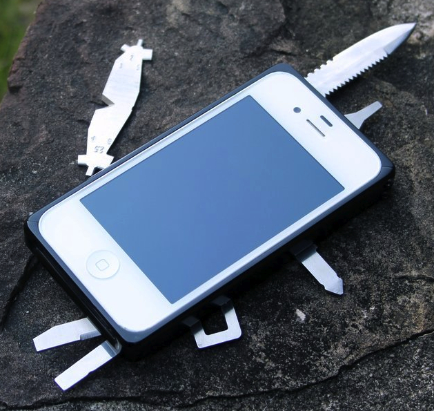 iphone case pocket knife
