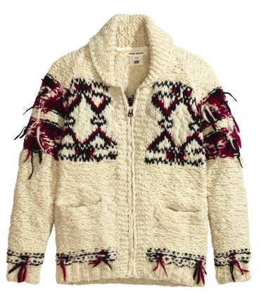 isabel marant for h&m boys cardigan