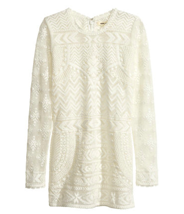 isabel marant for h&m lace top